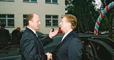 В.В.Фудимов и Тягачев Л.В. - президент Олимпийского комитета России с 2001 - 2010 гг